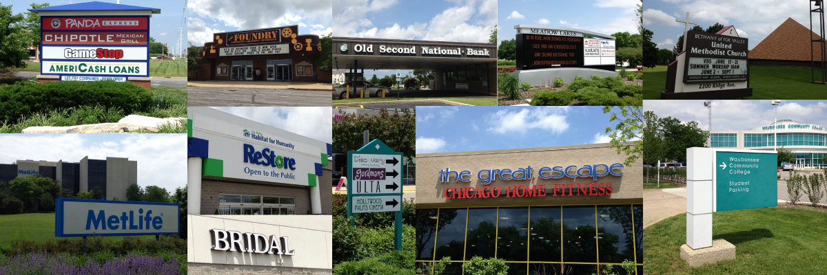 Outdoor Electric Signs